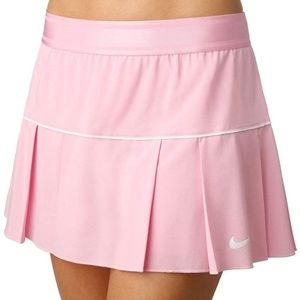 NWT Nike Tennis Women's Fall Victory pink Skirt